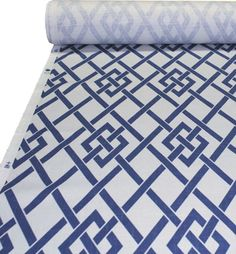 Great fabric -- Secret Gate in sapphire -- would love it for outdoor furniture and cushions.