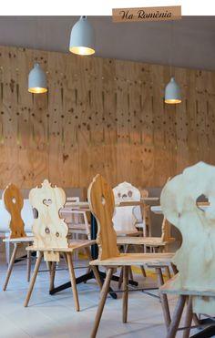 Awesome like ~Casa Boema Restaurant Interior Design, Commercial Interior Design, Commercial Interiors, Interior Architecture, Interior And Exterior, Restaurants, Hall Design, Cabin Design, Wood Interiors