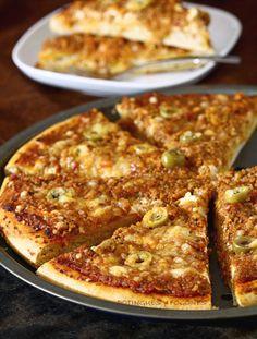 POTINGUES Y FOGONES: Pizza boloñesa