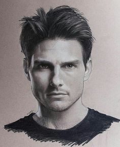 """WANT A SHOUTOUT ?   CLICK LINK IN MY PROFILE !!!    Tag  #DRKYSELA   Repost from @maas.art   Happy Friday! From the sketchbook today the one and only #TomCruise  Hope everyone has a wonderful weekend... and maybe go watch a Tom Cruise movie!  This #sketch was done in #graphite & #charcoal on toned tan @strathmoreart paper 11"""" x 14"""". #drawing #fineart #fanart #maasart #canadianart #portrait #salmonarm #TGIF via http://instagram.com/zbynekkysela"""