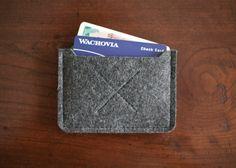 wool card case