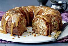 7 gooey caramel recipes - Starting with Honey-Caramel Apple Bundt Cake Best Apple Desserts, Apple Bundt Cake Recipes, Apple Dessert Recipes, Apple Recipes, Easy Desserts, Sweet Recipes, Apple Cakes, Baking Desserts, Fall Recipes