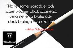 Na tej samej zasadzie... #Schopenhauer-Arthur,  #Spojrzenie