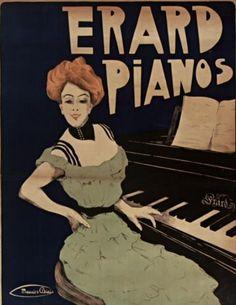 Maurice Biais (1875-1926),  1902, Erard Pianos, Paris.