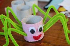 Tuvalet Kağıdı Rulosundan Örümcek Yapımı Canim Anne  https://www.canimanne.com/tuvalet-kagidi-rulosundan-orumcek-yapimi.html