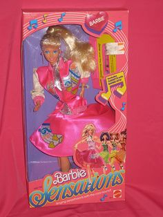 1987 Barbie & the Sensations...I had this doll, too cool!