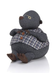George Mole Doorstop - he's so cute! Decorative Accessories, Home Accessories, Door Stop, Mole, Home Living Room, Decorating Your Home, Projects To Try, House Design, Doors