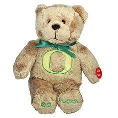 Oregon Ducks Musical Teddy Bear, Multicolor