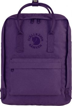 Fjallraven Re-Kanken Classic Backpack Red - Fjallraven Kanken Re Kanken, Recycling, Fox Bag, Laptop Rucksack, Recycle Plastic Bottles, Unisex, Seat Pads, School Backpacks, Midnight Blue