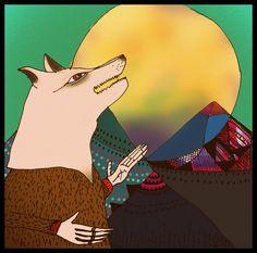 hombre lobo en Guajara