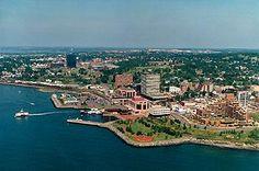 Dartmouth, Nova Scotia....I live on this side of the bridge :-)