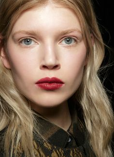 Fall Beauty Trend Forecast: The Biggest Hair & Makeup Trends for Fall 2015—Plus, How To Wear Them // Wine-Colored Lip Stain