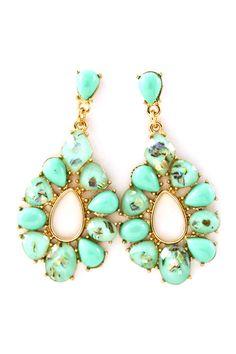 Mintylicious Mother of Pearl Sadie Earrings