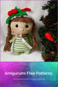 We continue to share beautiful amigurumi patterns with you. You can visit our website for the Amigurumi Elf Angel and Devil pattern. Crochet Patterns Amigurumi, Amigurumi Doll, Crochet Dolls, Best Christmas Toys, Single Crochet Stitch, Cute Dolls, Free Crochet, Free Pattern, Half Double Crochet