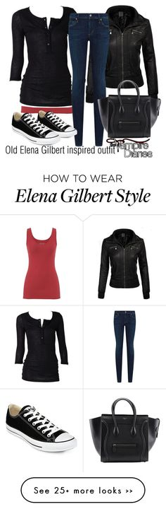 """Old Elena Gilbert inspired outfit/TVD"" by tvdsarahmichele on Polyvore"