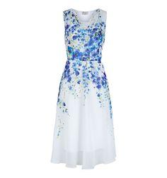 Painted Delph Dress
