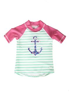 6cd423bb9fb3b Banz Anchor Short Sleeve Rash Shirt Banz 2018 swimwear range for boys and  girls aged 3
