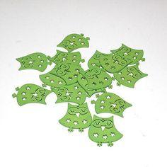 Ugler grøn – 16 stk