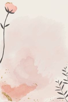 Pastel Background Wallpapers, Flower Background Wallpaper, Flower Backgrounds, Cute Wallpapers, Wallpaper Backgrounds, Floral Watercolor Background, Pink Glitter Background, Floral Wallpapers, Blog Backgrounds