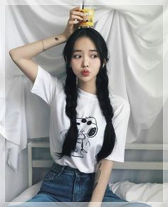 Ulzzang - Fashion - Beauty - Kpop I do NOT post pictures of myself! The girls' names are always in the tags! Korean Girl Cute, Korean Girl Short Hair, Korean Girl Ulzzang, Ulzzang Girl Fashion, Mode Ulzzang, Pretty Korean Girls, Beautiful Asian Girls, Cute Asian Girls, Ulzzang Hair