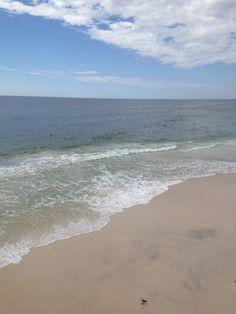 At the beach in Panama City Florida