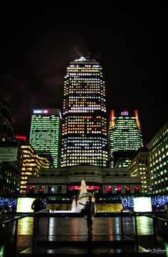 Canary Wharf in London, Greater London