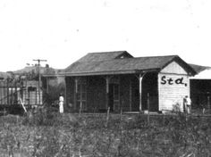 Railroad station at Hormigueros, Puerto Rico ca1910.