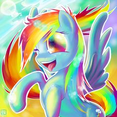 ✯ Rainbow Dash  by ~Ininko✯