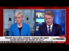 "'The president is a fool' MSNBC's Joe Scarborough and Mika Brzezinski reacted in shock and dismay after President Donald Trump complained that he wasn't receiving enough credit for military gains. The president griped about news coverage in a series of early morning tweets, and insisted he had not tipped off Syria and Russia to a planned missile attack, and the ""Morning Joe"" hosts were embarrassed for him."