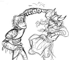 I don't ship Hiccup with Ruffnut but this picture is very well done and besides it does seem just a friendly fist Bump ^_^