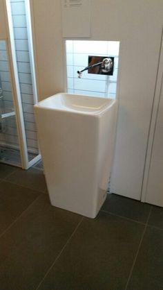 Vitra m-line monobloc washbasin