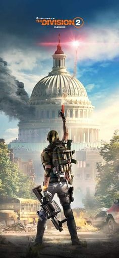 The Division 2 Best Wallpapers Android, Iphone Wallpaper Video, Hd Wallpapers For Mobile, Gaming Wallpapers, Mobile Wallpaper, Cracked Wallpaper, Smoke Wallpaper, Division Games, Tom Clancy The Division