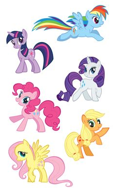 File:Ponies.svg cricut
