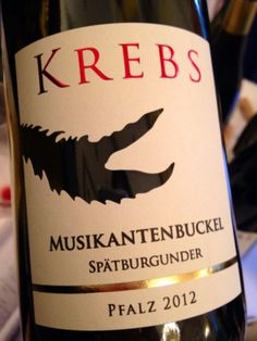 2012 Musikantenbuckel Spätburgunder, Krebs