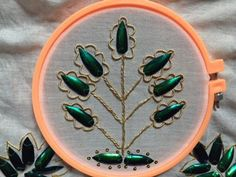 Beetle wing embroidery Gold Work, Beetles, Wings, Victorian, Embroidery, My Style, Inspiration, Clothes, Fashion