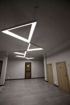 MFL Product Feature: Triangle LED Pendant System Diffuser, Triangle, Shelves, Led, Pendant, Outdoor Decor, Home Decor, Shelving, Decoration Home