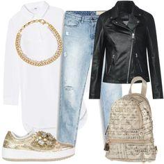 b559895eca11 Rock  3862  outfit donna Rock per tutti i giorni