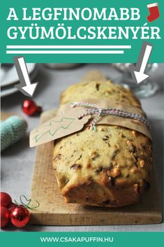Christmas Crafts, Xmas, Loaf Cake, Macarons, Cookie Recipes, Banana Bread, Breakfast Recipes, Recipies, Food And Drink