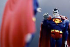 "Bizarro Superman - ""Bizarro hate getting photo taken!"""