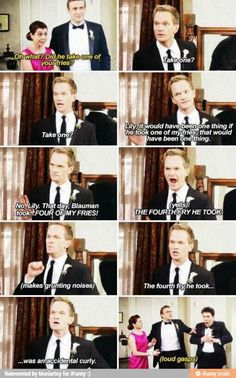 Lol . How I Met Your Mother #himym