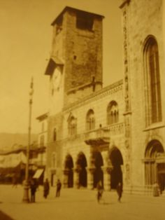 Como, Broletto and Bell Tower 20's