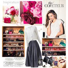 """Miranda Kerr's Closet via TheCoveteur"" by jacque-reid on Polyvore"