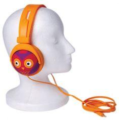 #Owl #Headphones - cool for the kids. #gadget
