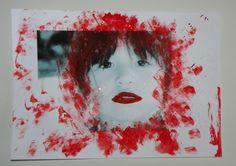 """""""déguiser"""" un portrait http://plume-echevelee.over-blog.com/2015/02/carnaval-avant-l-heure.html"""