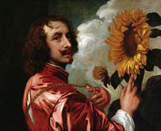 Anthony van Dyck (1599–1641). Self-portrait (1633). Oil on canvas. 584×730mm. Private collection
