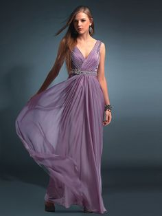 cef7039bb86b0 Lilac Chiffon Long Maxi Gowns for Plus Size at buytopdress.com Plus Size  Gowns