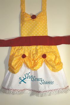 Toddler's Belle Apron. This one is better :)