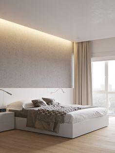 Minimalist Bedroom Blue Simple cosy minimalist home beds.Contemporary Minimalist Bedroom Simple minimalist home with kids beautiful. Modern Minimalist Bedroom, Minimal Bedroom, Minimalist Apartment, Minimalist Home Interior, Stylish Bedroom, Cozy Bedroom, Minimalist Decor, Bedroom Apartment, Bedroom Ideas