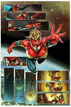 Look what posting online can do. A drawing of Thor done by freelance artist Dexter Soy somehow reached Marvel Comics, and now he is part of the team giving life to 'Captain Marvel.'