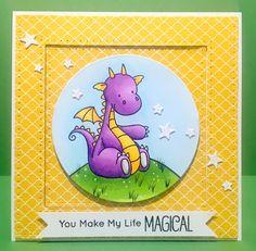 MFT magical dragons. my favorite things. www.clairmatthews.com